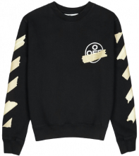 Off White Tape Sweatshirt XL