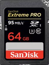 Carte mémoire Sandisk Extreme Pro 64 GB