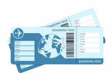 300£ Flight Tickets Voucher